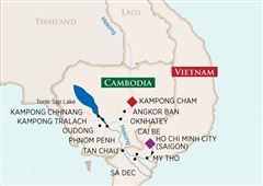Charms of the Mekong: Ho Chi Minh City Kampong Cham 2019