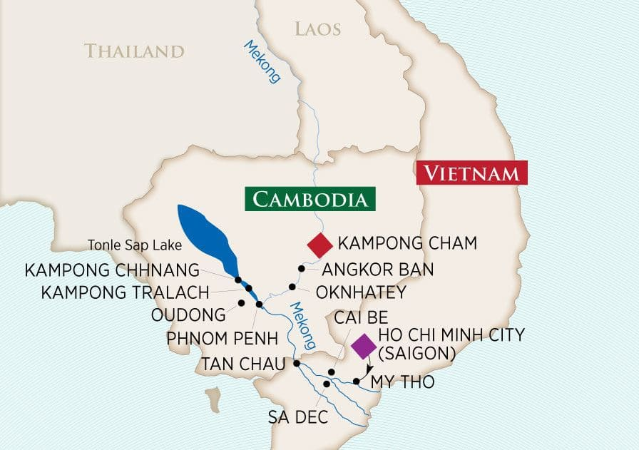 Charms of the Mekong: Ho Chi Minh City Kampong Cham 2020