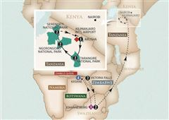 Golden Trails of East Africa: Zambezi Queen 2021