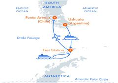Antarctica Express Air-Cruises