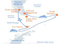 Antarctica and South Georgia Air-Cruise