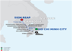 Fascinating Vietnam, Cambodia & The Mekong River – Cruise Only Northbound 2018