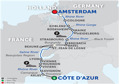 Rhine & Rhône Revealed – Northbound 2018