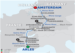 Rhine & Rhône Revealed – Cruise Only Northbound 2018