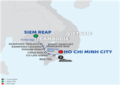 Fascinating Vietnam, Cambodia & The Mekong River – Cruise Only Southbound 2018