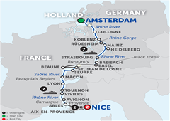 Rhine & Rhône Revealed With Aix-En-Provence & Nice – Southbound 2018