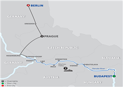 Danube Dreams With Berlin – Westbound 2018