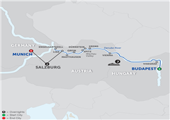 Active Discovery On The Danube With Salzburg – Westbound 2018