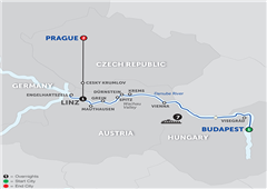 Active Discovery On The Danube With Prague – Westbound 2018