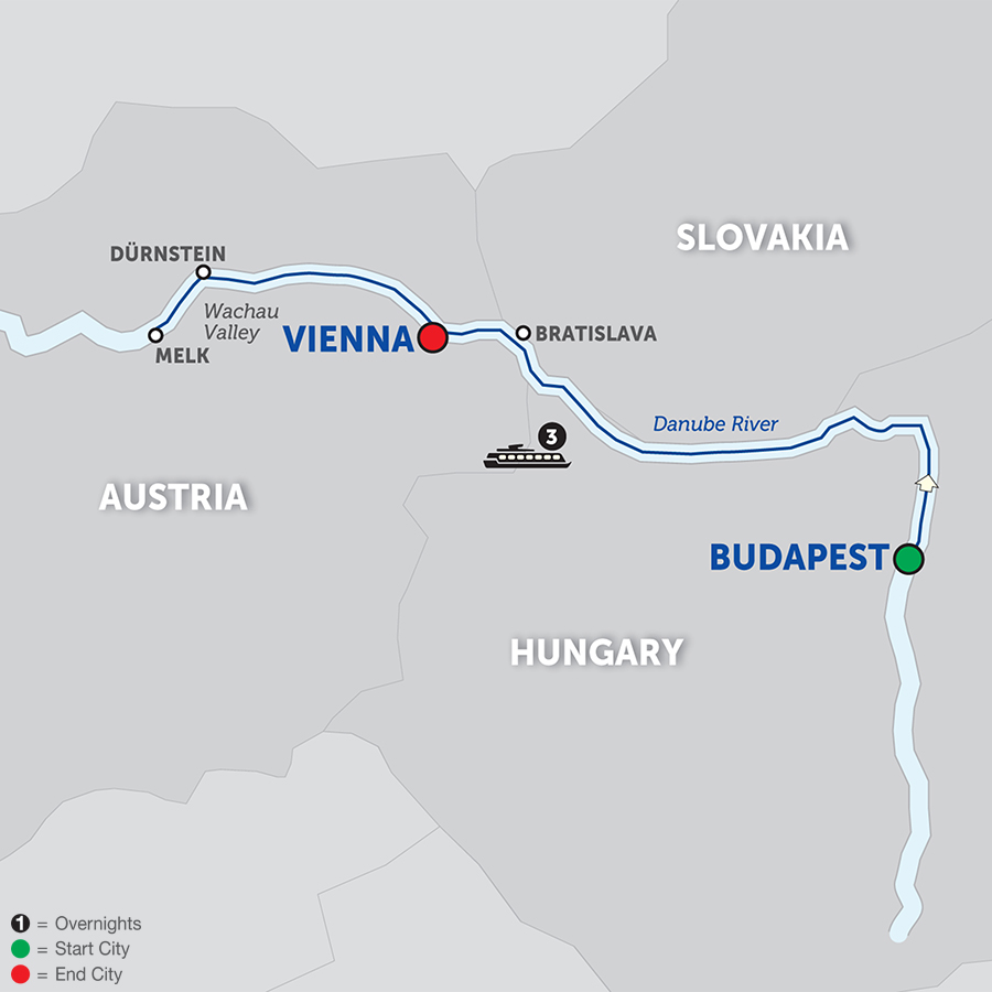 A Taste Of The Danube – Cruise Only Westbound 2018