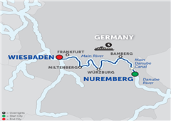 Christmas In The Heart Of Germany – Cruise Only Westbound 2018