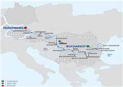 From The Danube Delta To Prague For Wine Lovers - Cruise Only 2018