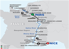 Grand France With Aix-En-Provence & Nice - Southbound 2018