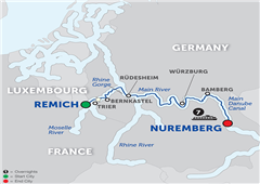Central European Experience - Cruise Only Eastbound 2018