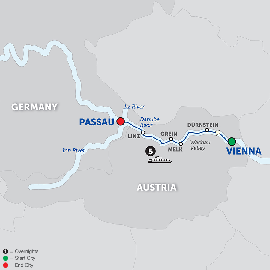 Danube Symphony - Cruise Only Westbound 2018