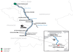 Romantic Rhine With 2 Nights Lucerne – Southbound 2019