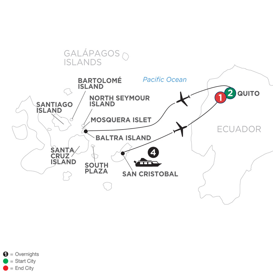 Ecuador & Its Galápagos Islands 2019