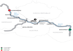 The Blue Danube Discovery – Cruise Only 2019