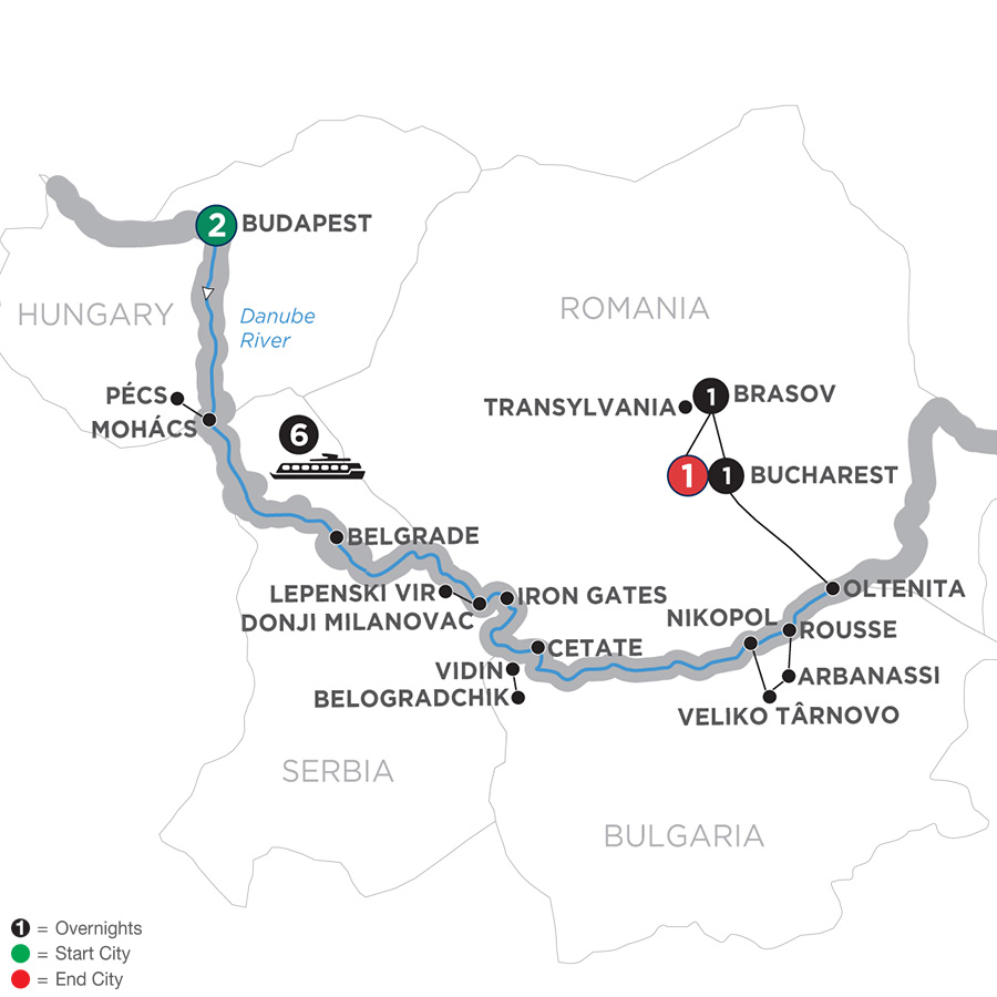 Balkan Discovery With 2 Nights Transylvania 2019