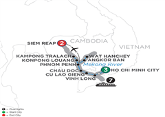 Fascinating Vietnam, Cambodia & The Mekong River – Northbound 2019