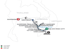 Fascinating Vietnam, Cambodia & The Mekong River With Bangkok – Northbound 2019