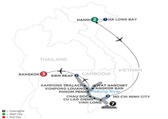 Fascinating Vietnam, Cambodia & The Mekong River With Hanoi, Ha Long Bay & Bangkok – Northbound 2019