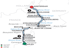 Rhine & Rhône Revealed – Cruise Only Northbound 2019