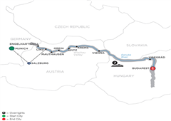 Active Discovery On The Danube With  3 Nights Salzburg Area – Eastbound 2019