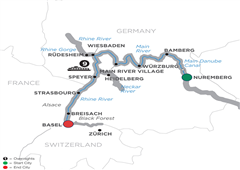Christmastime From Prague To Basel – Cruise Only 2019