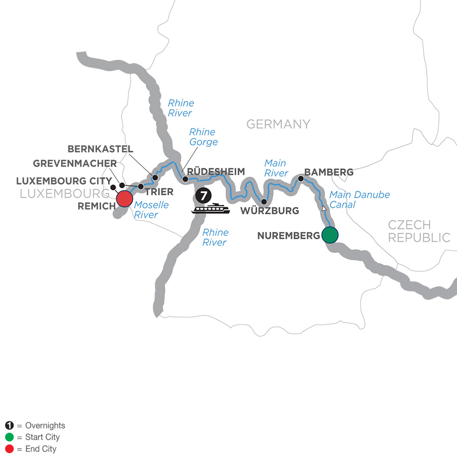 Central European Experience – Cruise Only Westbound 2019