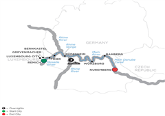 Central European Experience – Cruise Only Eastbound 2019