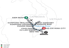 Fascinating Vietnam, Cambodia & The Mekong River – Southbound 2019