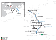Romantic Rhine With 3 Nights Paris & 3 Nights London – Northbound 2019
