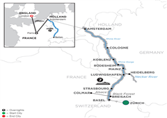 Romantic Rhine With 2 Nights Paris & 2 Nights London – Northbound 2019