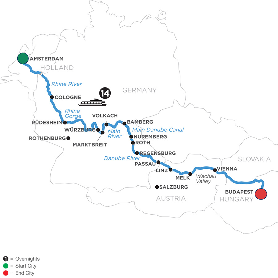 Magnificent Europe (Eastbound) 2020