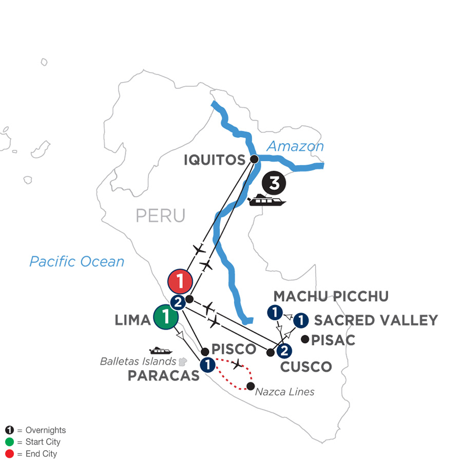 From The Inca Empire To The Peruvian Amazon With The Nazca Lines 2020