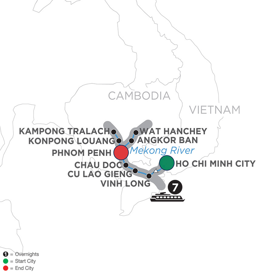 Mekong Discovery (Northbound) 2020