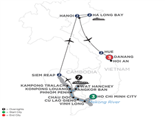 The Heart Of Cambodia & Vietnam With Hue & Danang – (Northbound) 2020