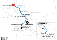 Romantic Rhine With 2 Nights In Lucerne (Northbound) 2020