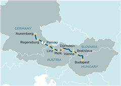 Danube Delights Nuremberg to Budapest 2019