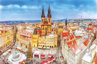 Christmas Markets on the Danube & Prague Budapest to Prague 2019