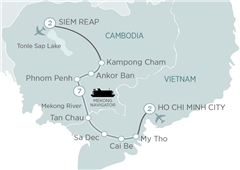 Mekong Discoverer Cruise Ho Chi Minh City to Siem Reap 2019
