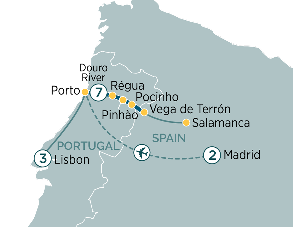 Madrid to Lisbon & Secrets of the Douro Madrid to Lisbon 2019
