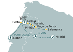 Lisbon to Madrid & Secrets of the Douro Lisbon to Madrid 2019