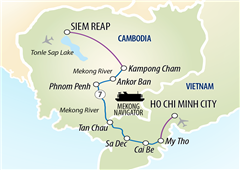 Magnificent Mekong Cruise Ho Chi Minh City to Siem Reap 2018