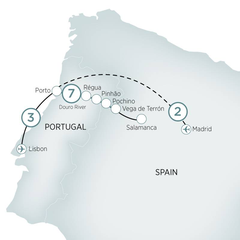 Lisbon to Madrid & Secrets of the Douro Lisbon to Madrid 2018