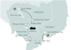 Mekong Discoverer Cruise Siem Reap to Ho Chi Minh City 2019