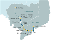 Majestic Mekong River Cruise Ho Chi Minh City to Siem Reap 2019