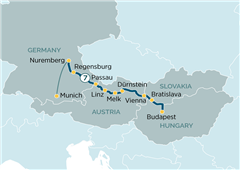 Danube Delights Budapest to Munich 2019