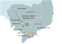Majestic Mekong Discoverer Cruise Ho Chi Minh City to Siem Reap 2019
